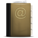 addressbook, phonebook icon