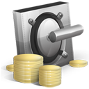 cash, lock, money, safe, vault, yuan icon