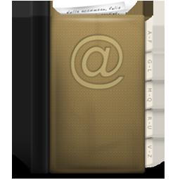 addressbook, phonebook icon