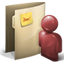 folder, user icon