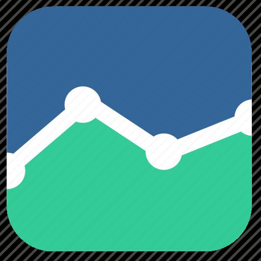 demography, graph, population, statistics icon