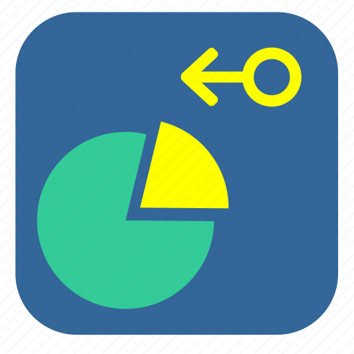 demography, graph, male, sector, statistics icon