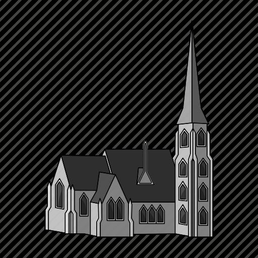 architecture, building, church, denmark, house, religion, temple icon