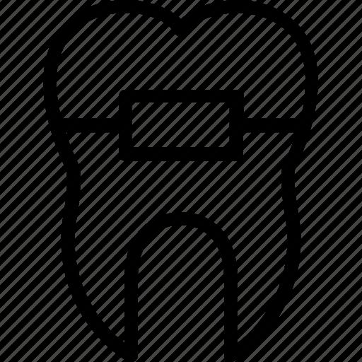 Картинка брекет символ