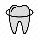 medicine, oral, stomatology, tooth icon