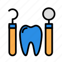 medicine, oral, stomatology, treatment icon