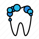 medicine, oral, stomatology, wash icon