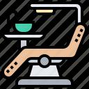chair, clinic, dental, dentist, treatment icon