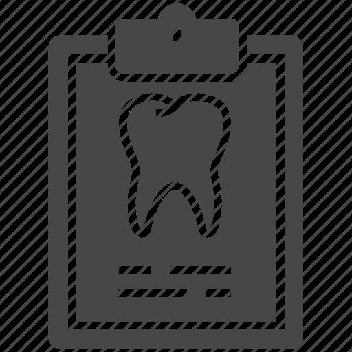 Dental, dental record, dental records, record icon - Download on Iconfinder