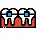 dental, dentist, healthcare, medical, orthodontics, tooth icon