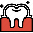 dental, dentist, enamel, healthcare, medical, tooth icon
