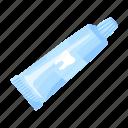 care, paste, toothpaste, tube icon