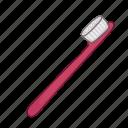 care, dental, hygiene, tooth brush icon