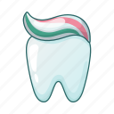 dental, hygiene, tooth, toothpaste icon