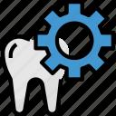caries, dental, dentalhealthcare, dentist, front, medical, set icon