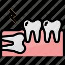 bodyparts, care, dental, dentalcare, dentist, healthcare icon