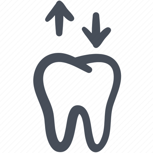dental, doodle, removable denture, tooth icon