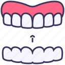 beauty, dental, invisalign, orthodontics, teeth icon