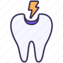 pain, toothache, hypersensitive, dental, teeth, caries, trouble