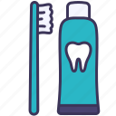 clean, teeth, dental, toothbrush, toothpaste