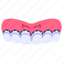 beauty, dental, gum, surgery, teeth, treatment icon