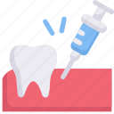 anesthesia, dental care, dentist, health, injection, painless, tooth