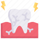 broken, cracked tooth, dental care, dentist, health, tooth, toothache