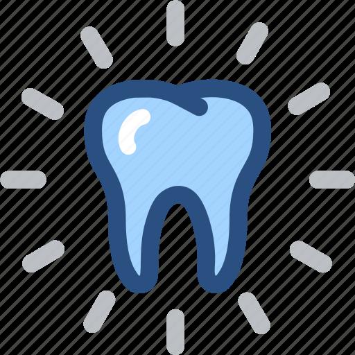bright, dental, dental care, dentist, dentistry, tooth, white tooth icon