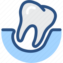 dental, dental treatment, dentist, dentistry, loose tooth, medical, tooth icon