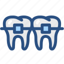dental, dental orthodontic treatment, dentist, dentistry, medical, oral hygiene, tooth icon