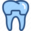 dental, dental crown, dental treatment, dentist, dentistry, teeth, tooth icon