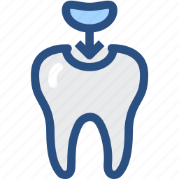 decayed tooth, dental, dental treatment, dentist, medical, molar cavity, tooth icon