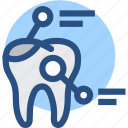 dental, dental records, dentist, dentistry, detail, tooth, toothx rays icon