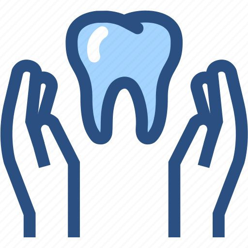 dental, dental care, dental health care, dentist, dentistry, hands, tooth icon