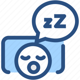 dental, dentist, dentistry, oral hygiene, sleeping, snore, tooth icon