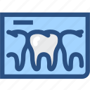 dental, dental records, dentist, dentistry, tooth, tooth x ray, x rays icon