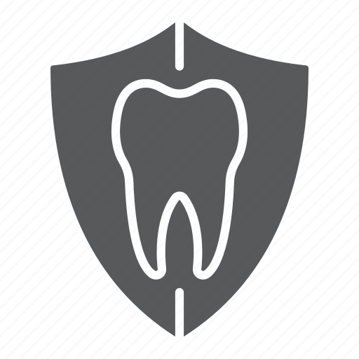 care, dental, health, protection, shield, stomatology, tooth icon