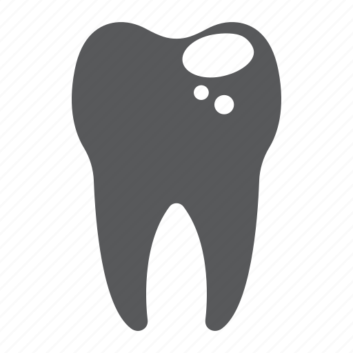 bad, caries, dental, healthy, sick, stomatology, tooth icon