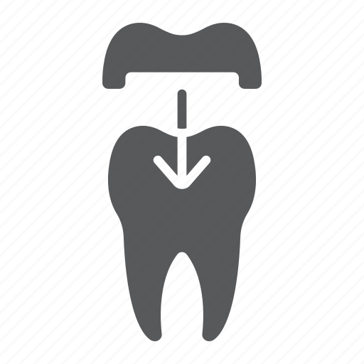ceramic, crown, dental, dentist, healthy, stomatology, tooth icon