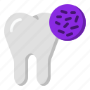 bacteria, clinic, dentist, tooth icon