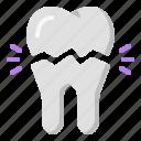 broken, clinic, dentist, molars, tooth