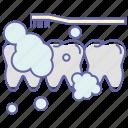 dentist, stomatology, teeth cleaning, teeth washing, tooth cleaning, tooth washing icon