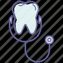 dental health, dental man, dentist, stomatology, tooth doctor, tooth health icon
