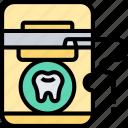 dental, floss, care, hygiene, oral