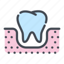 dental, dentist, dentistry, gun, teeth, tooth icon