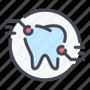 area, dental, dentist, dentistry, problem, teeth, tooth icon