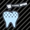 caries, clean, dental, dentist, dentistry, teeth, tooth icon