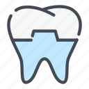 dental, dentist, dentistry, denture, implant, teeth, tooth icon