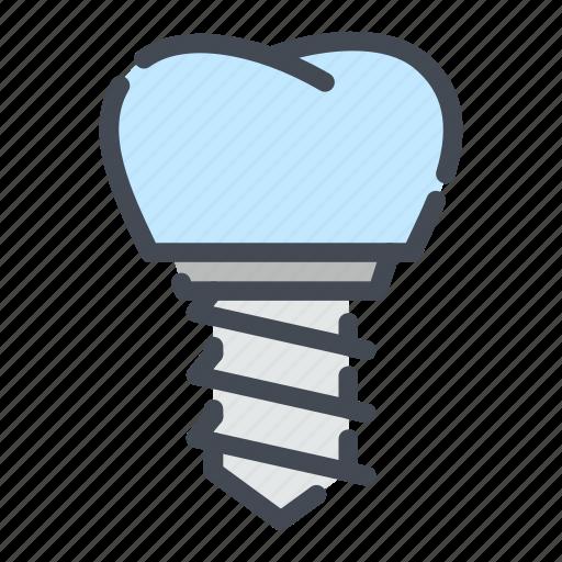 dental, dentist, dentistry, denture, implant, teeth, tooth icon