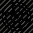 car, drive, tire, wheel, wood icon